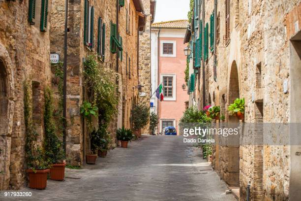 san quirico d'orcia - florence italy stock pictures, royalty-free photos & images