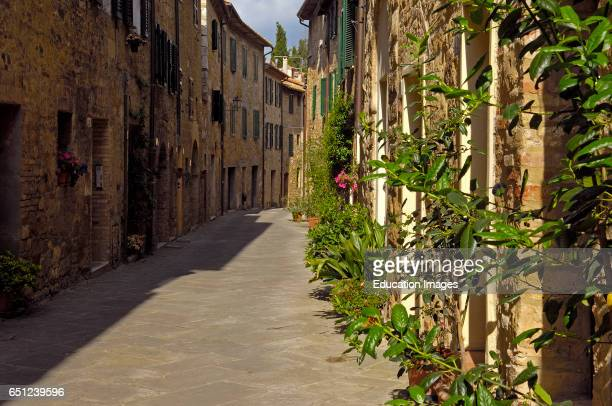 San Quirico d'Orcia Val d'Orcia Orcia Valley UNESCO World Heritage Site Siena Province