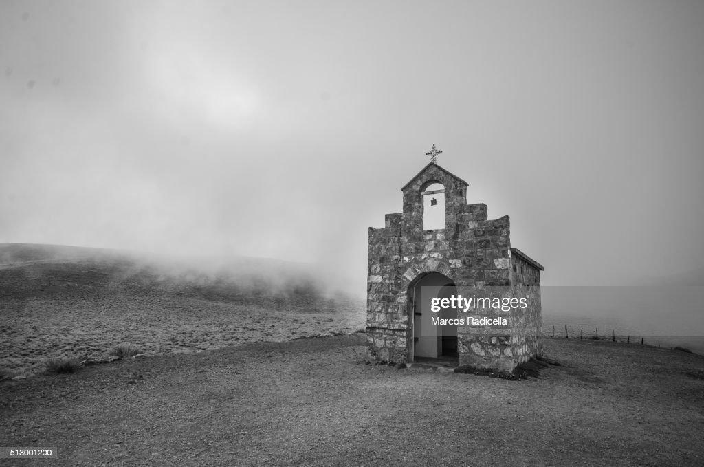 san Rafael Chapel, Salta Argentina : Stock Photo