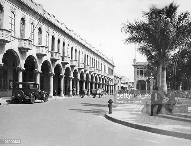 San Salvador The Capital Of El Salvador In The 1910'S And 1920'S