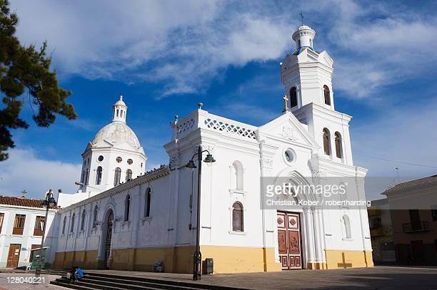 San Sebastian church, Historic Centre of Santa Ana de los Rios de Cuenca, UNESCO World Heritage Site, Cuenca, Ecuador, South America