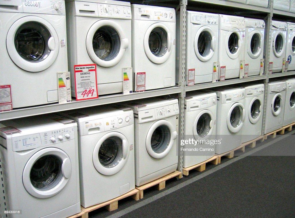 san sebastian de los reyes madrid media markt washing machines news photo getty images. Black Bedroom Furniture Sets. Home Design Ideas