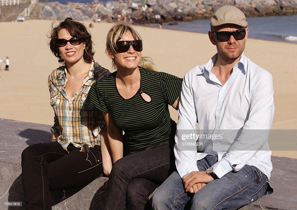 Danish actors Mia Lyhne , Iben Hjejle and Casper Christensen pose... News Photo | Getty Images