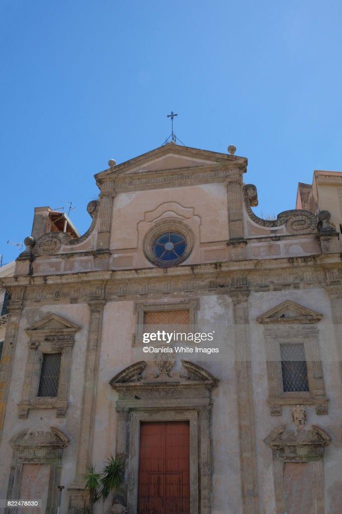 San Sebastiano ,Palermo, Sicily, Italy : Stock Photo