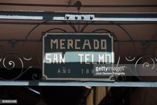San Telmo Market in Buenos Aires