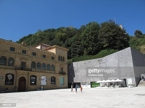 San Telmo Museum at the foot of Mount Urgull left the old Dominican monastery made in Gothic and Renaissance styles and fitting into Mount the new...