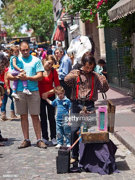 San Telmo street market in Buenos Aires, Argentina.