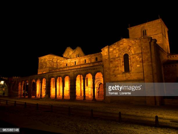 san vicente (nocturna) - llorente stock pictures, royalty-free photos & images