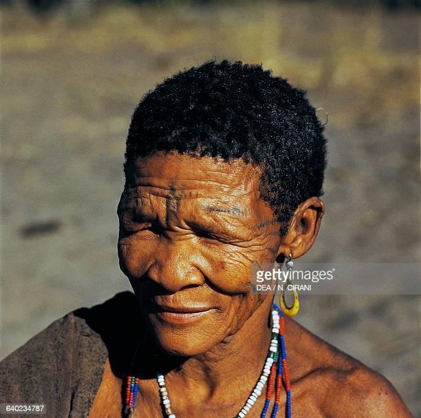 San woman Botswana