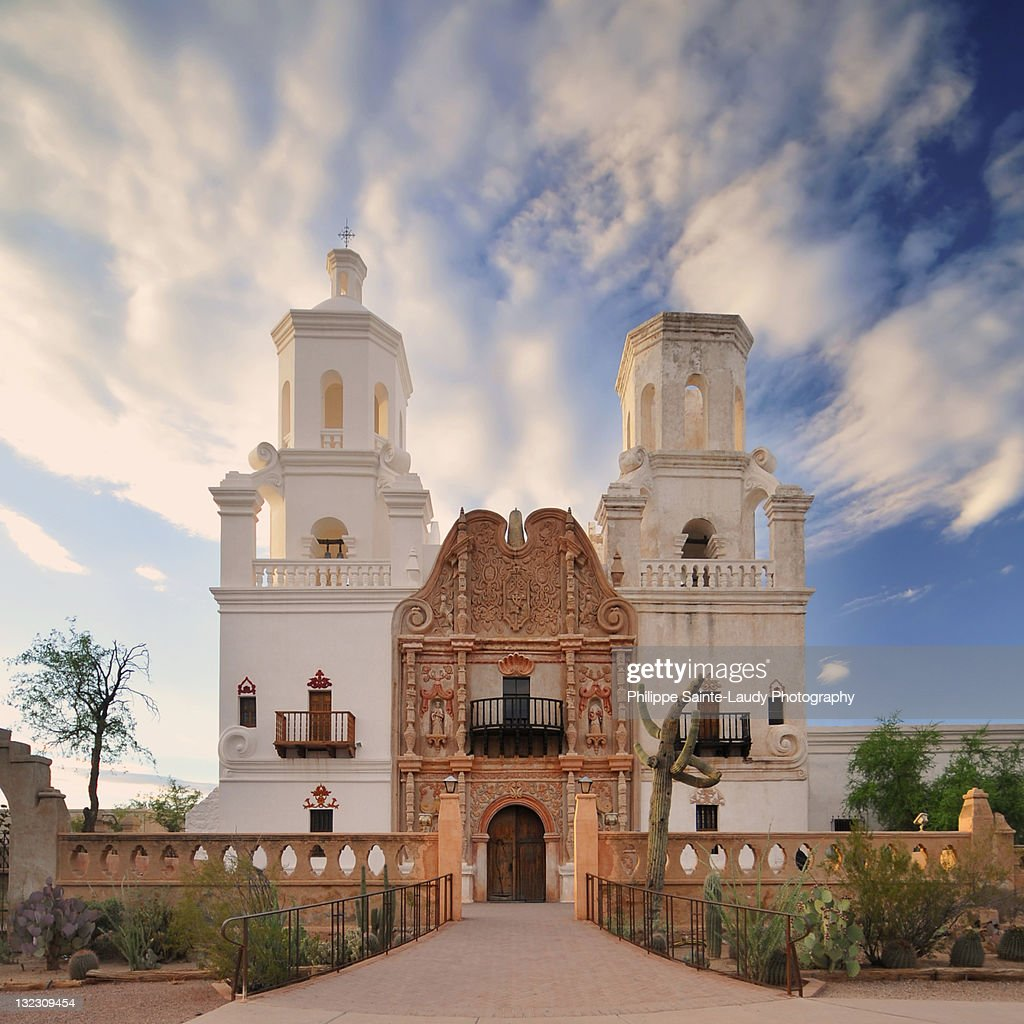 San Xavier church : Stock Photo