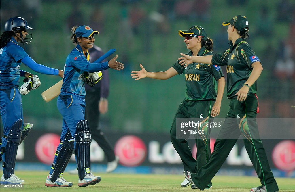 Sana Mir captain of Pakistan after winning the ICC Women's World Twenty20 7th/8th place ranking match between Sri Lanka Women and Pakistan Women played at Sylhet International Cricket Stadium on April 3, 2014 in Sylhet, Bangladesh.