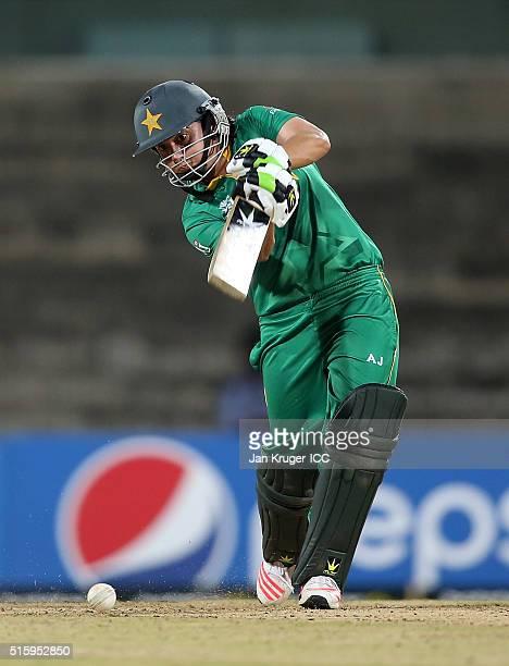 Sana Mir Captain of Pakistan bats during the Women's ICC World Twenty20 India 2016 match between West Indies and Pakistan at MA Chidambaram Stadium...