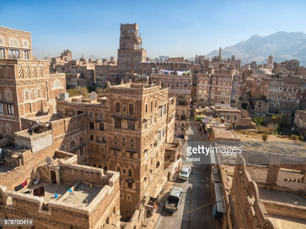 sanaa architecture - sanaa stock pictures, royalty-free photos & images