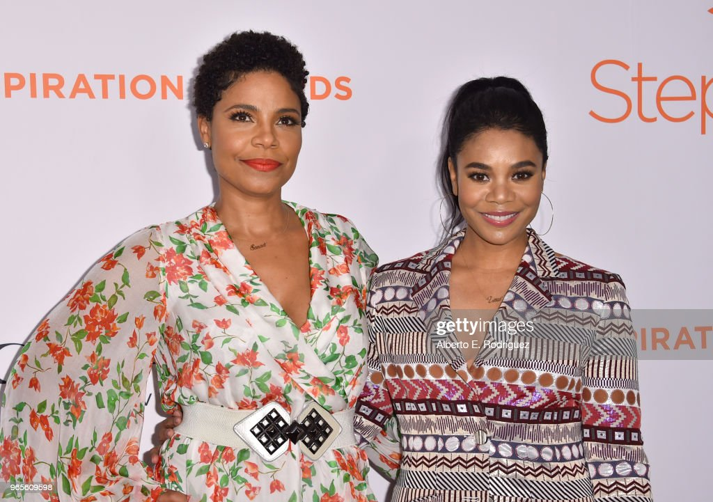 Sanaa Lathan and Regina Hall attend Step Up's 14th annual Inspiration Awards at the Beverly Wilshire Four Seasons Hotel on June 1, 2018 in Beverly Hills, California.