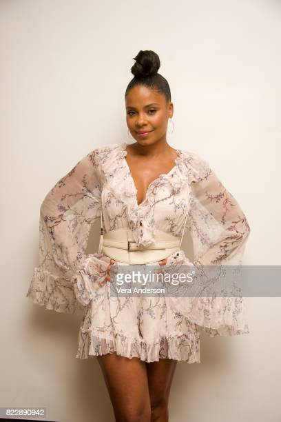 Sanaa Lathan at the American Assassin Press Conference at the Four Seasons Hotel on July 24 2017 in Beverly Hills California