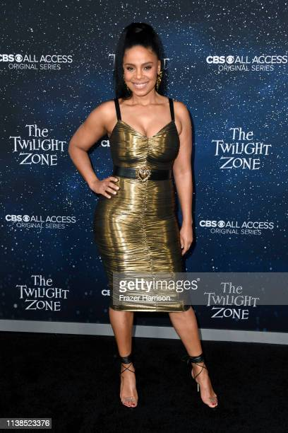 """Sanaa Lathan attends CBS All Access new series """"The Twilight Zone"""" premiere at the Harmony Gold Preview House and Theater on March 26, 2019 in..."""
