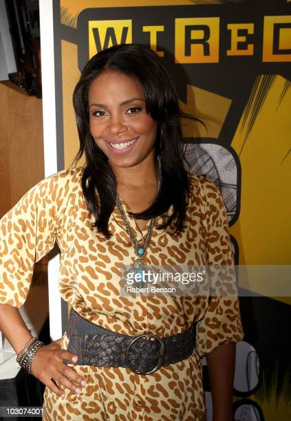 Sanaa Lathan attends Day 3 of the WIRED Cafe at Comic-Con 2010 held at the Omni Hotel on July 24, 2010 in San Diego, California.