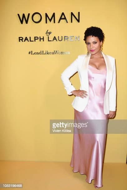 Sanaa Lathan attends Ralph Lauren Fragrances x Women In Film Sisterhood Of Leaders Event on October 24 2018 in Beverly Hills California