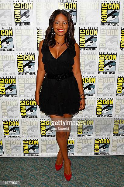 "Sanaa Lathan attends ""The Cleveland Show"" press room at 2011 Comic-Con International - Day 4 at San Diego Convention Center on July 24, 2011 in San..."
