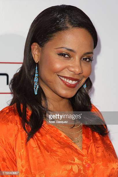 Sanaa Lathan attends the Hollywood Palladium Grand Reopening at the Hollywood Palladium on October 15 2008 in Hollywood California