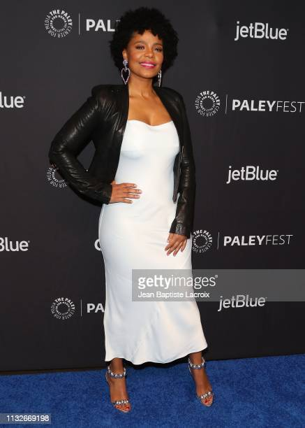 Sanaa Lathan attends the Paley Center For Media's 2019 PaleyFest LA Star Trek Discovery and The Twilight Zone held at the Dolby Theater on March 24...