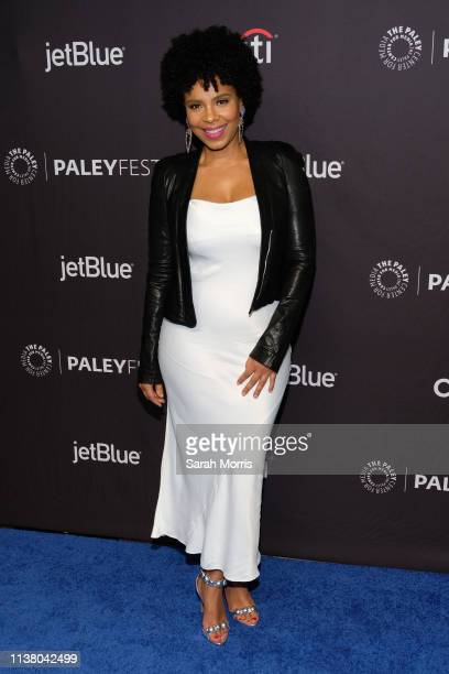 Sanaa Lathan attends The Paley Center for Media's 2019 PaleyFest LA Star Trek Discovery and The Twilight Zone at Dolby Theatre on March 24 2019 in...
