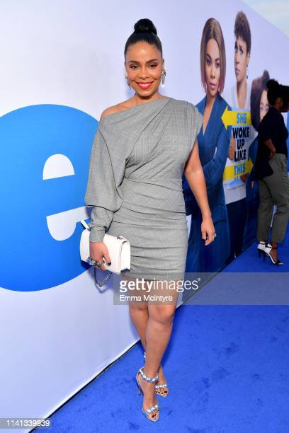 Sanaa Lathan attends the premiere of Universal Pictures Little at Regency Village Theatre on April 08 2019 in Westwood California