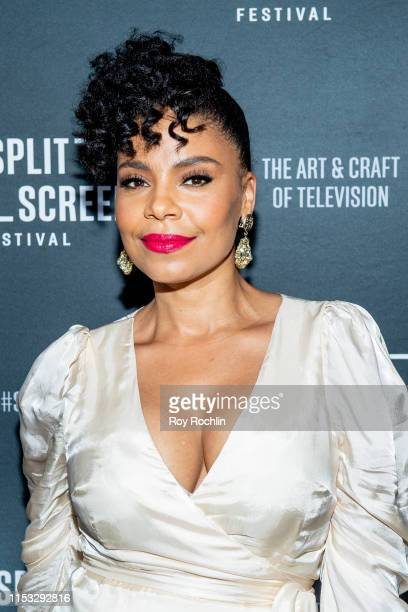 Sanaa Lathan attends the screening of The Twilight Zone during the 2019 Split Screens TV Festival at IFC Center on June 2 2019 in New York City