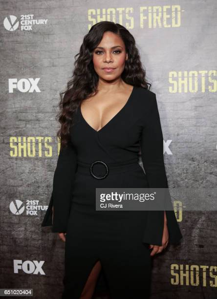 Sanaa Lathan attends the 'Shots Fired' New York special screening at The Paley Center for Media on March 9, 2017 in New York City.