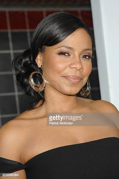 Sanaa Lathan attends West Coast Screening of 'A Raisin in the Sun' at AMC Magic Johnson on February 11 2008 in Los Angeles CA