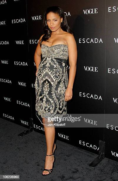 Sanaa Lathan during Escada Grand Opening Of The Beverly Hills Flagship Boutique - Arrivals at Escada Beverly Hills in Beverly Hills, California,...