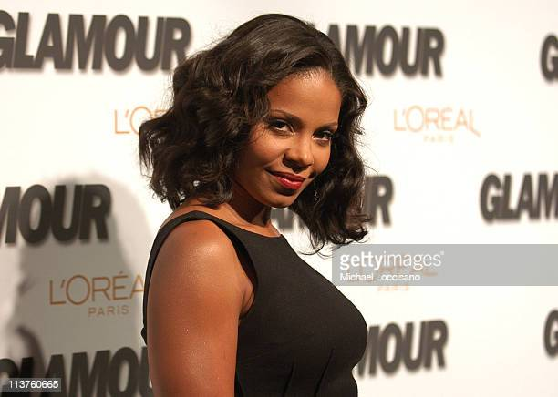 Sanaa Lathan during Glamour Magazine Salutes The 2005 Women of the Year - Arrivals at Avery Fisher Hall in New York City, New York, United States.