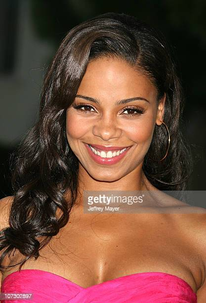Sanaa Lathan during Season Four Premiere Screening Of Nip/Tuck Arrivals at Paramount Studios in Hollywood California United States