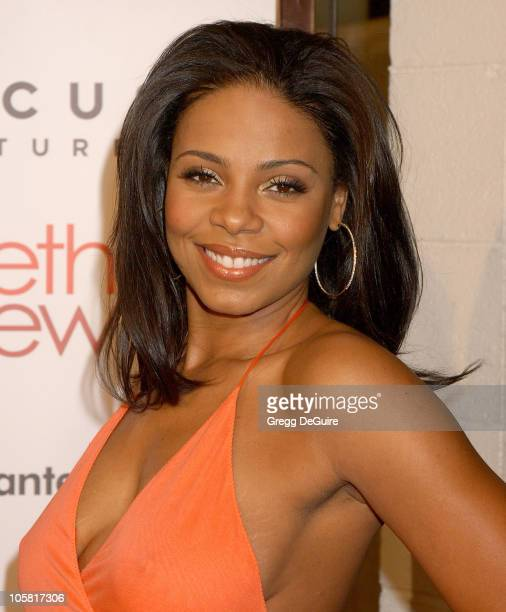 Sanaa Lathan during 'Something New' Los Angeles Premiere Arrivals at Cinerama Dome in Los Angeles California United States