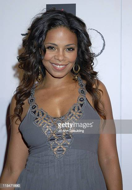Sanaa Lathan during TAO Las Vegas First Anniversary Weekend Janet Jackson Album Release Party Red Carpet Arrivals at The Venetian Resort Hotel Casino...