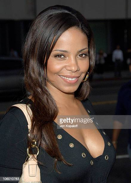Sanaa Lathan during 'The Black Dahlia' Los Angeles Premiere Arrivals at Academy of Motion Picture Arts and Sciences in Beverly Hills California...