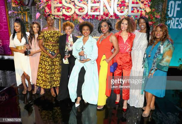 Sanaa Lathan honoree Regina Hall honoree KiKi Layne honoree Amandla Stenberg honoree Jenifer Lewis Sheryl Lee Ralph Elaine Welteroth Charmaine Lewis...