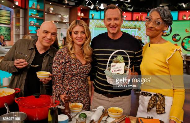 THE CHEW Sanaa Lathan is the guest Wednesday March 22 2017 on ABC's 'The Chew' 'The Chew' airs MONDAY FRIDAY on the ABC Television Network HALL