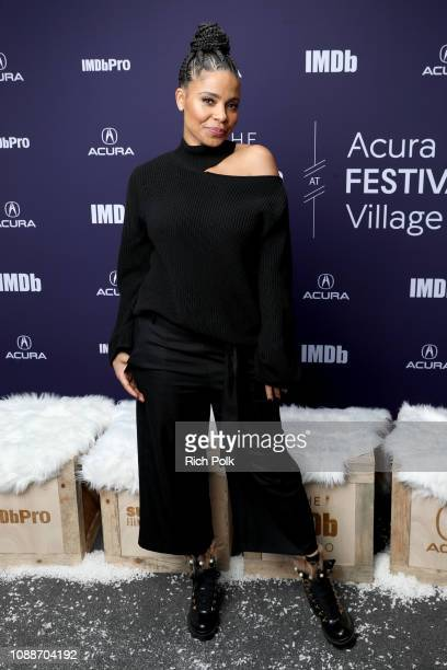 Sanaa Lathan of 'Native Son' attends The IMDb Studio at Acura Festival Village on location at the 2019 Sundance Film Festival Day 1 on January 25...