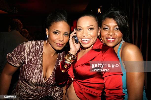 Sanaa Lathan Tisha Campbell and Taraji P Henson during Kimora Lee Simmons Presents KLS Fall 2007 Collection Inside at Social Hollywood in Los Angeles...