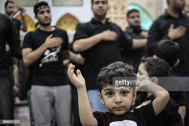 Sanabis Bahrain Ritual of Shia Muslims beating chest in anniversary Fatima azZahra'a of death of Fatima Shia maintain that Fatima died as a result of...