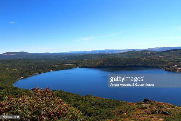Sanabria lake in Zamora province, Castile and Leon