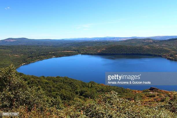 sanabria lake - zamora stock pictures, royalty-free photos & images