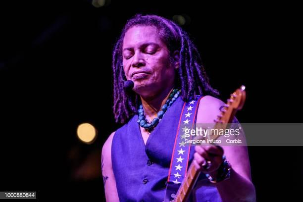 Sananda Maitreya performs on stage at Castello Sforzesco on July 17 2018 in Milan Italy