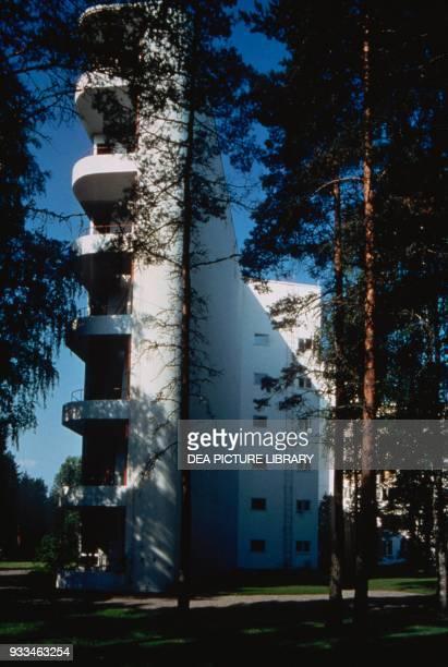 Sanatorium 19291933 by Alvar Aalto Paimio Finland