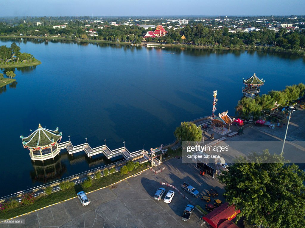 Sanchao Pu-Ya Shrine, Udon Thani Thailand. : Stock-Foto
