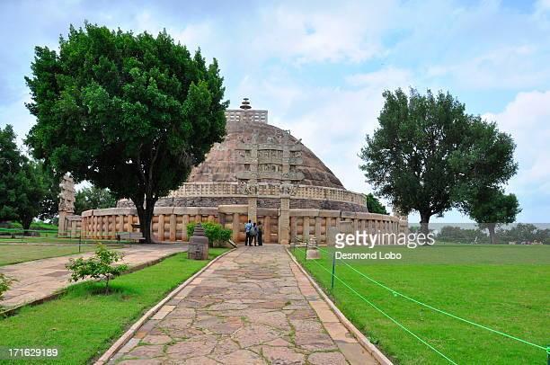 Sanchi Stupa  - A view