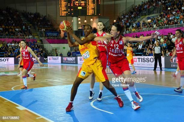 Sancho Lyttle - - Espagne / Serbie - 1/2Finale - Championnat d'Europe Feminin 2013 -Orchies, Photo: Dave Winter / Icon Sport