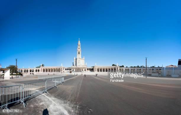 sanctuary of fatima. portugal - estremadura stock-fotos und bilder