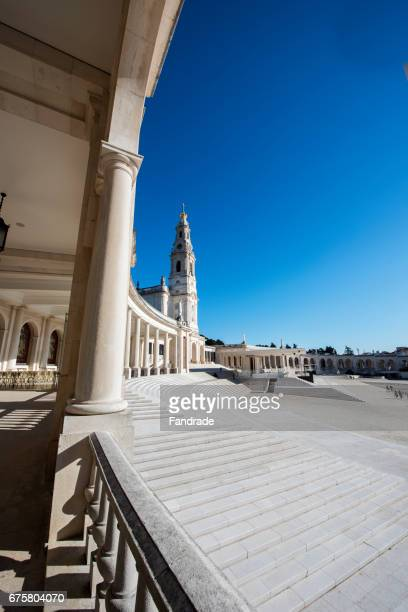 sanctuary of fatima. portugal - our lady of fatima stock pictures, royalty-free photos & images